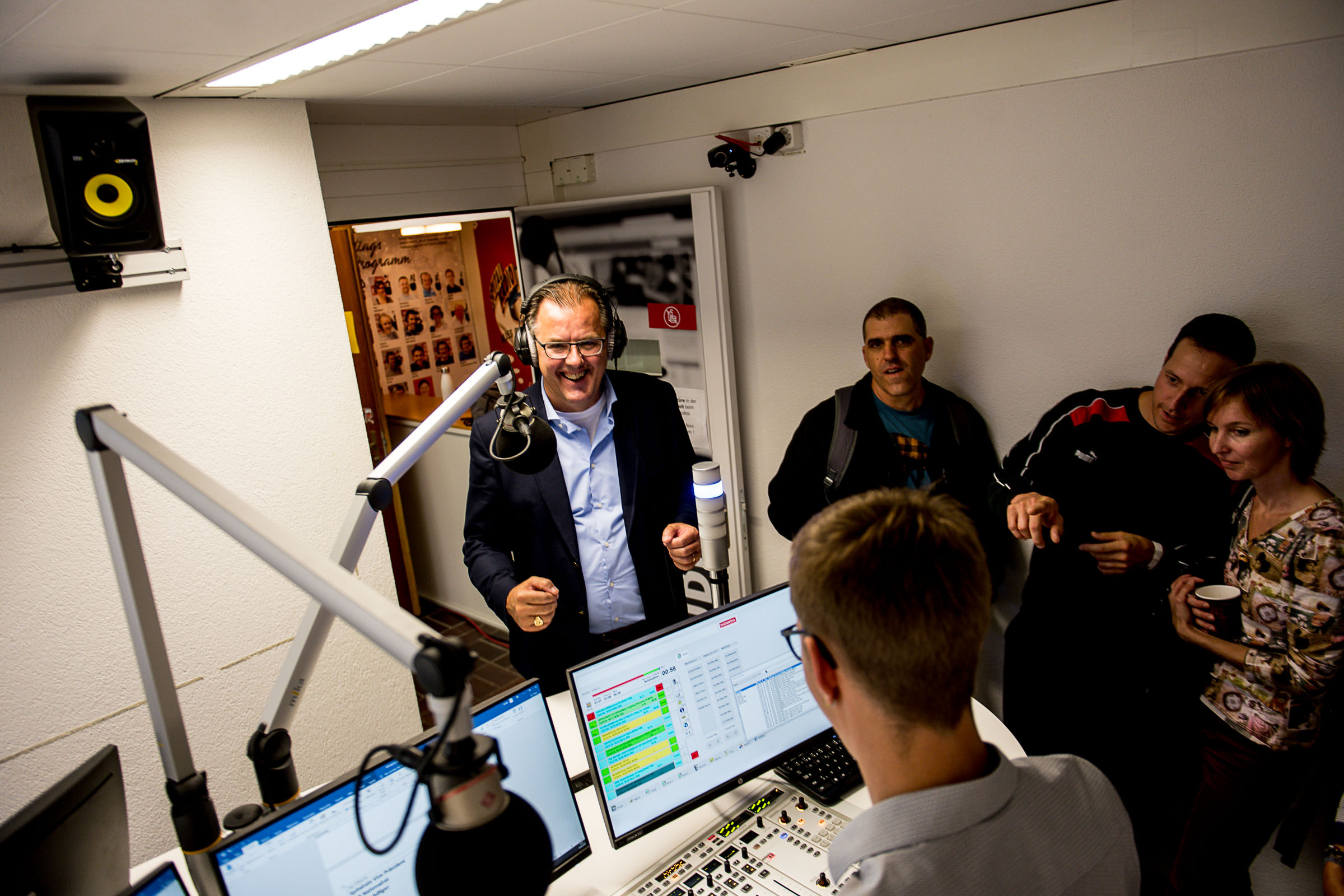 Peter Schilliger (Nationalrat FDP) im Interview bei Spitalradio LuZ