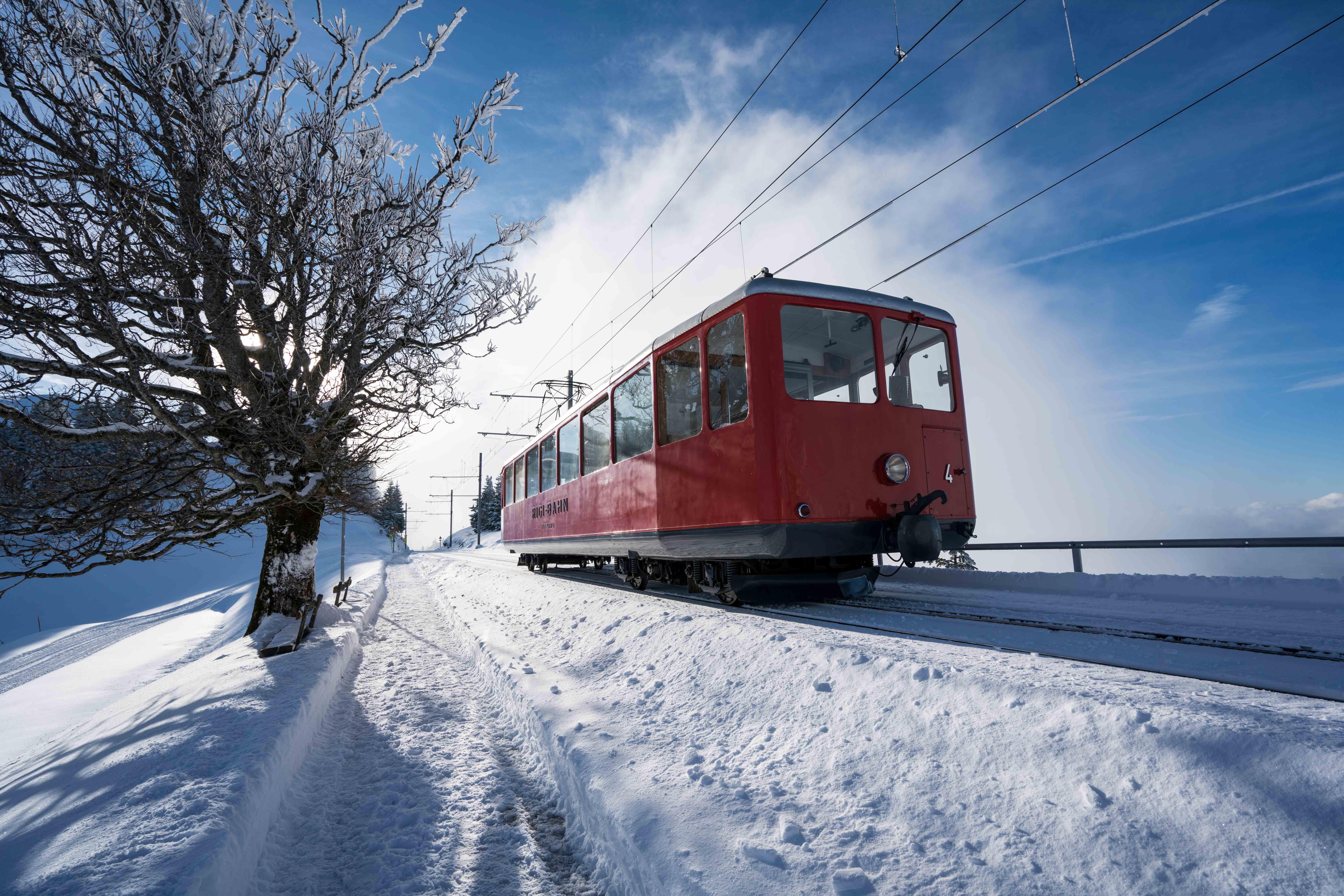 Rigi Bahnen Winter 2
